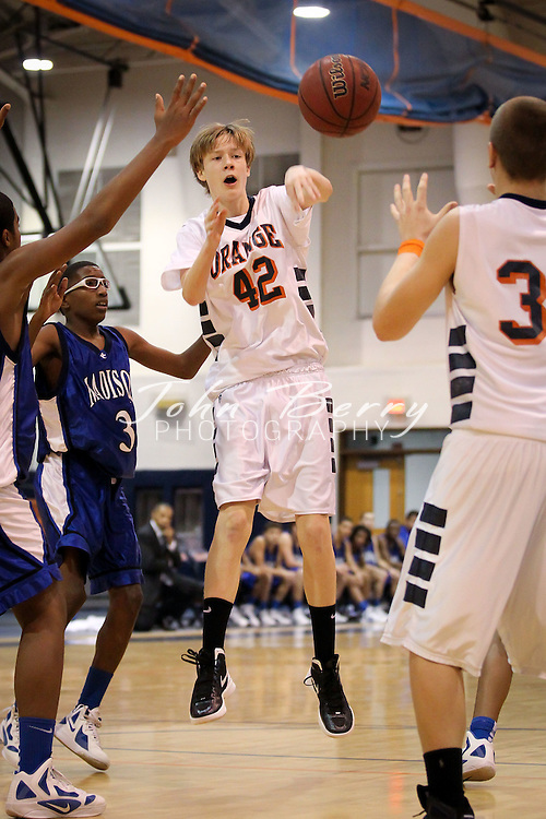 January/7/12:  MCHS JV Boy's Basketball at Orange.  Orange JV boys defeat Madison 77-21.