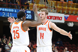 7 March 2015: The Southern Conference hosted their 2015 basketball championship, Saturday at UNCA in Asheville, North Carolina.  Mercer 89, VMI 61. Credit: Todd Drexler/SoConPhotos.com