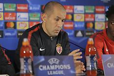 AS Monaco Press Conference - 06 Dec 2017