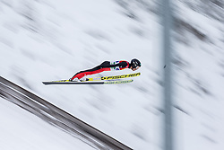 15.12.2017, Nordische Arena, Ramsau, AUT, FIS Weltcup Nordische Kombination, Skisprung, im Bild Akito Watabe (JPN) // Akito Watabe of Japan during Cross Country Training of FIS Nordic Combined World Cup, at the Nordic Arena in Ramsau, Austria on 2017/12/15. EXPA Pictures © 2017, PhotoCredit: EXPA/ Dominik Angerer