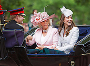 KATE's Fit Of Laughter - Trooping Of Colour 2014