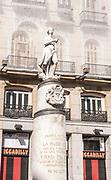 Venus statue, Puerta del Sol, Madrid, Spain