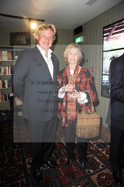 MARTIN CLUNES and VIRGINIA McKENNA at a party to celebrate the publication of Born Wild by Tony Fitzjohn at The Arts Club, Dover Street, London on 16th September 2010.