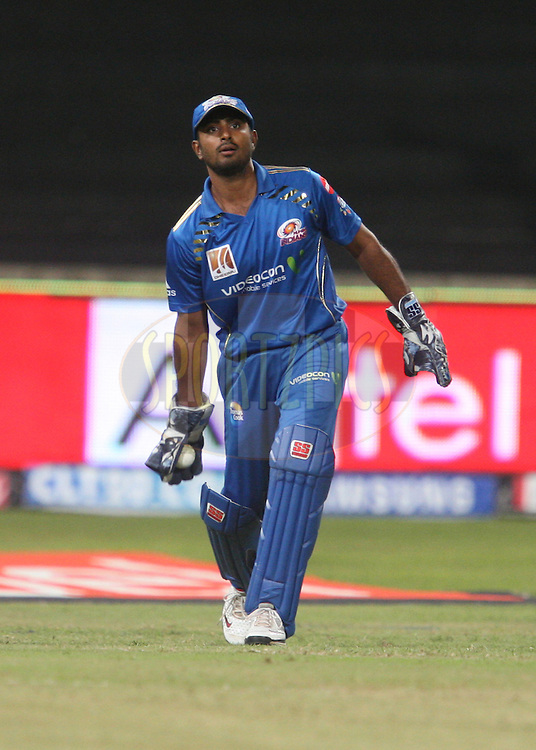 Ambati Rayudu during match 10 of the Airtel CLT20 between The Mumbai Indians and Guyana held at Kingsmead Stadium in Durban on the 16 September 2010..Photo by: Steve Haag/SPORTZPICS/CLT20.