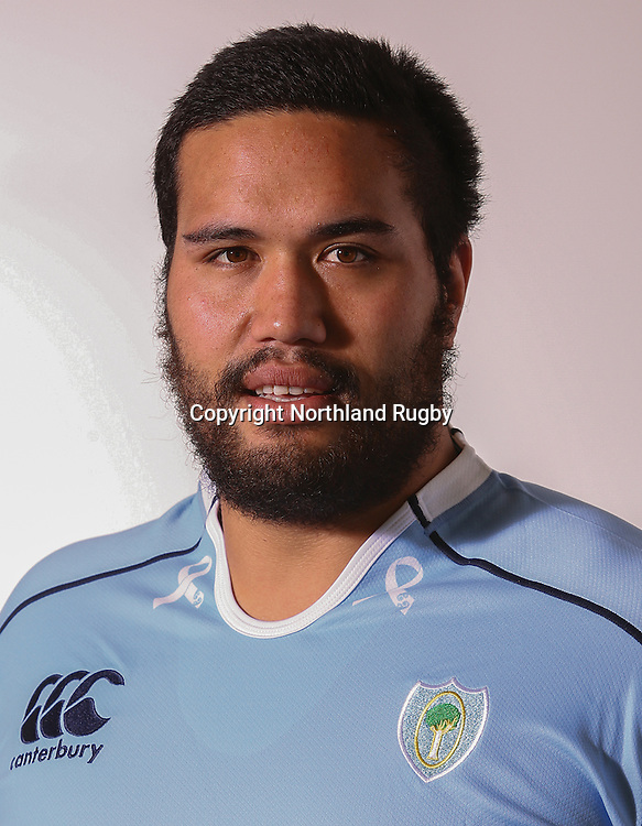 Namatahi Waa. Headshots of the Northland ITM Cup rugby union team for the 2015 season.