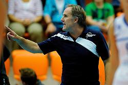 07-10-2012 VOLLEYBAL: SLIEDRECHT SPORT - IRMATO VC WEERT: ROTTERDAM<br /> Irmato VC Weert wint met 3-1 van Sliedrecht en pak de eerste prijs van het seizoen / Trainer/Coach Appie Krijnsen<br /> ©2012-FotoHoogendoorn.nl