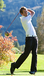 03.10.2010, Golfclub, Zell am See Kaprun, AUT, European Paragolf Championships 2010, im Bild Mathieu Cauneau, FRA, EXPA Pictures © 2010, PhotoCredit: EXPA/ J. Feichter