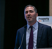 Matt Booker, Chubb, moderates panel during Advisen's Property Insurance Insights Conference in New York City on November 21, 2019. (Photo: www.JeffreyHolmes.com)