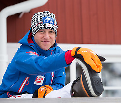 18.02.2015, Framby Udde Resort, Falun, SWE, FIS Weltmeisterschaften Ski Nordisch, Forotermin Nordische Kombination, im Bild Bernhard Gruber (AUT) // during a Photocall of Austrian Nordic Combined Team before the FIS Nordic Ski World Championships 2015 at the Framby Udde Resort, Falun, Sweden on 2015/02/18. EXPA Pictures © 2015, PhotoCredit: EXPA/ JFK