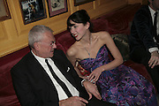 Michael White and Margot Stilley,  Charles Finch and Chanel 7th Anniversary Pre-Bafta party to celebratew A Great Year of Film and Fashiont at Annabel's. Berkeley Sq. London W1. 10 February 2007. -DO NOT ARCHIVE-© Copyright Photograph by Dafydd Jones. 248 Clapham Rd. London SW9 0PZ. Tel 0207 820 0771. www.dafjones.com.