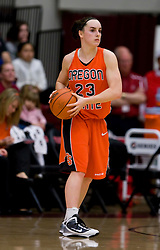 February 20, 2010; Stanford, CA, USA;  Oregon St. Beavers guard Julie Futch (23) during the second half against the Stanford Cardinal at Maples Pavilion.  Stanford defeated Oregon State 82-48.