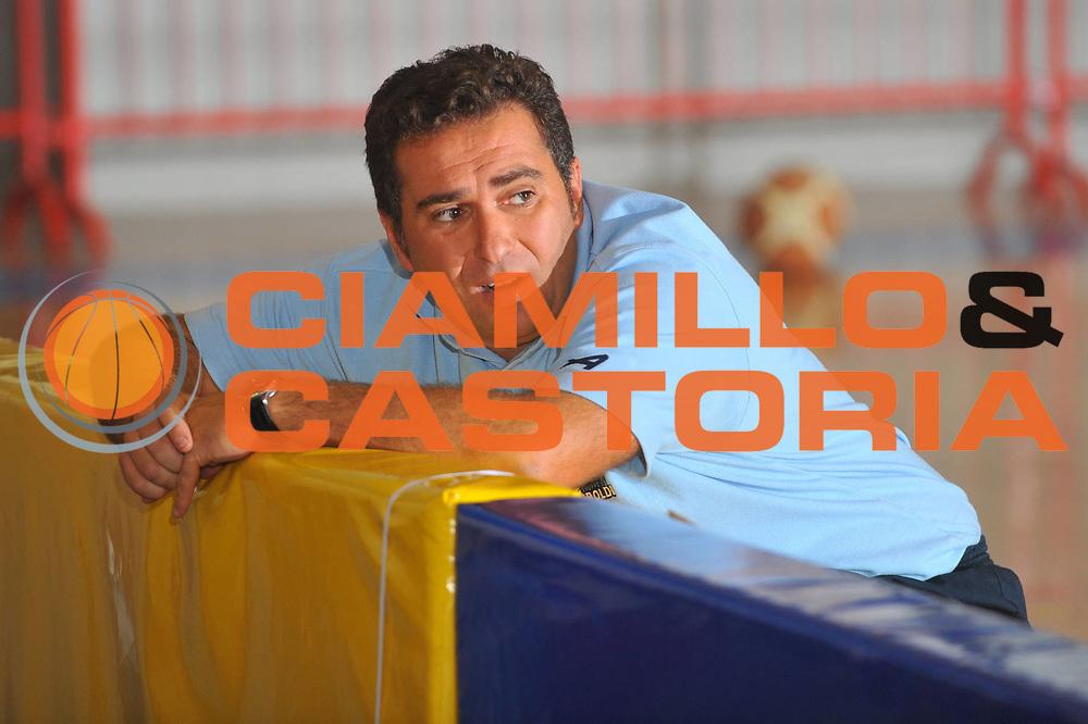 DESCRIZIONE : Caorle Lega A 2009-10 Amichevole Vanoli Basket Cremona Aris Salonicco<br /> GIOCATORE : Stefano Cioppi<br /> SQUADRA : Vanoli Basket Cremona<br /> EVENTO : Campionato Lega A 2009-2010 <br /> GARA : Vanoli Basket Cremona Aris Salonicco<br /> DATA : 13/09/2009<br /> CATEGORIA :  Ritratto<br /> SPORT : Pallacanestro <br /> AUTORE : Agenzia Ciamillo-Castoria/M.Gregolin