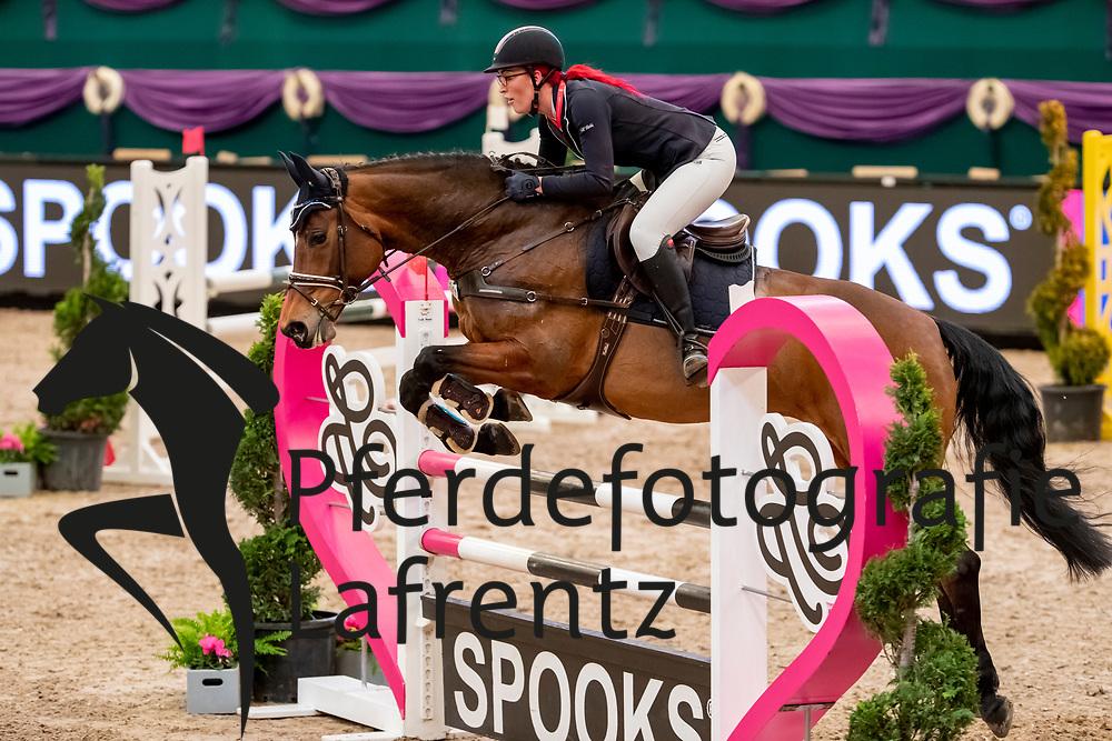 MÜLLER Melanie (GER), April Dream<br /> Leipzig - Partner Pferd 2019<br /> SPOOKS-Amateur Trophy<br /> Small Tour<br /> 17. Januar 2019<br /> © www.sportfotos-lafrentz.de/Stefan Lafrentz