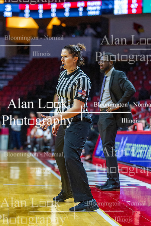 NORMAL, IL - November 05:  Erin Frias during a college women's basketball game between the ISU Redbirds and the Truman State Bulldogs on November 05 2019 at Redbird Arena in Normal, IL. (Photo by Alan Look)