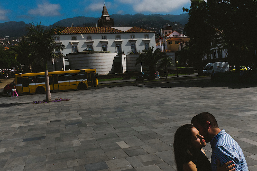 Engagement session in Madeira, Portugal