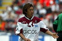 Milano, 3-10-04<br /> <br /> Campionato Serie A 2004-05<br /> <br /> Milan Reggina 3-1<br /> <br /> nella  foto Shunsuke Nakamura Reggina<br /> <br /> Foto Snapshot / Graffiti