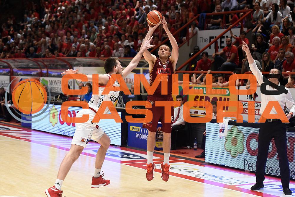 Michael Bramos<br /> The Flexx Pistoia Basket - Umana Reyer Venezia<br /> Lega Basket Serie A 2016/17<br /> Pistoia, 19/05/2017<br /> Foto Ciamillo-Castoria