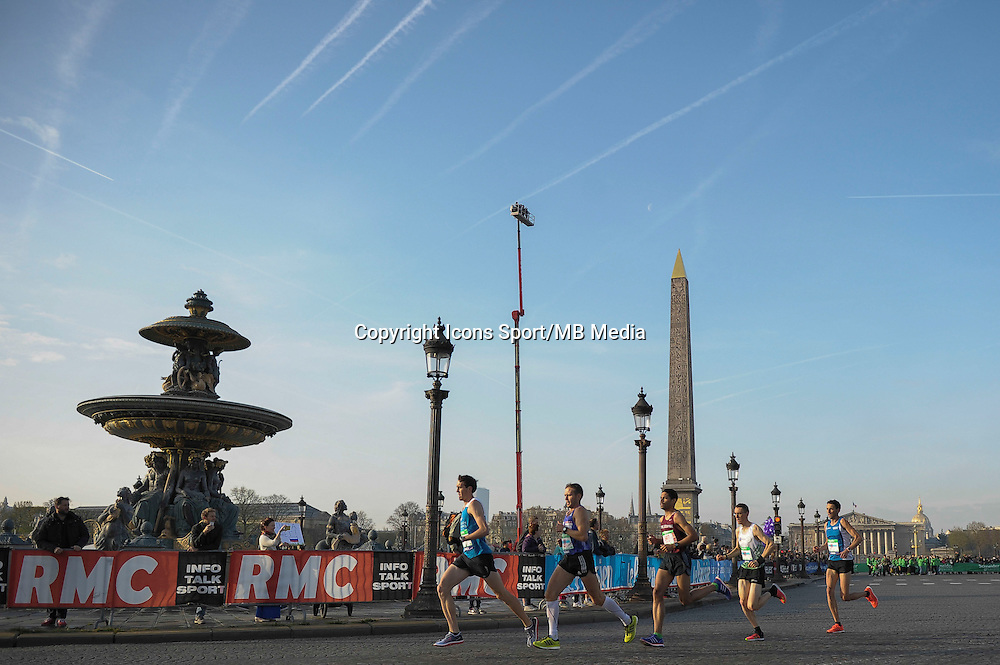 Illustration place de la Concorde - 12.04.2015 - Marathon de Paris 2015<br />