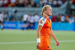 27-08-2004 GRE: Olympic Games day 14, Athens<br /> Hockey finale vrouwen Nederland - Duitsland 1-2 / Janneke Schopman