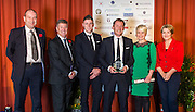 The winners of the 2015 Scottish Border Business Award the Manufacturer of the Year:	Giacopazzi's Wholesale Ice Cream, Eyemouth.  Sponsored by Davidson Chalmers LLP.  Kerry Waddell, represented Giacopazzi's Wholesale Ice Cream <br />