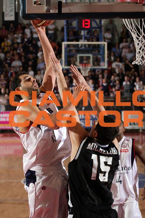 DESCRIZIONE : Biella Lega A1 2008-09 Angelico Biella Eldo Caserta<br /> GIOCATORE : Luca Garri<br /> SQUADRA : Angelico Biella<br /> EVENTO : Campionato Lega A1 2008-2009<br /> GARA : Angelico Biella Eldo Caserta<br /> DATA : 07/12/2008<br /> CATEGORIA : Tiro<br /> SPORT : Pallacanestro<br /> AUTORE : Agenzia Ciamillo-Castoria/S.Ceretti<br /> Galleria : Lega Basket A1 2008-2009<br /> Fotonotizia : Biella Campionato Italiano Lega A1 2008-2009 Angelico Biella Eldo Caserta<br /> Predefinita :