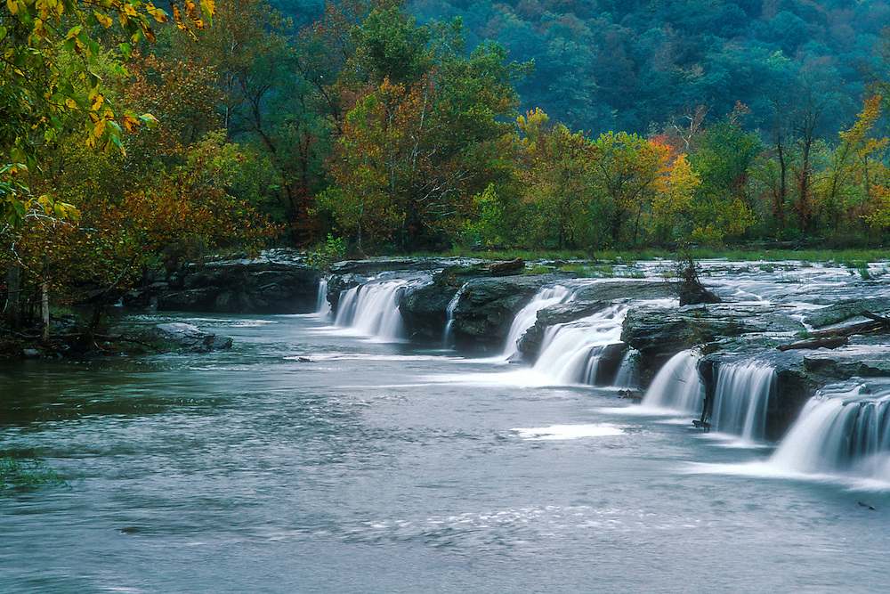 Falls at New River Gorge, West Virginia