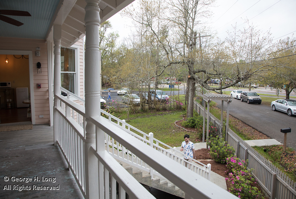 Grand opening of the Abita Springs Hotel and Ann O'Brien Gallery on March 18, 2018; photo ©2018, George H. Long