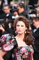 Bianca Balti attends the gala screening of Lawless at the 65th Cannes Film Festival. The screenplay for the film Lawless was written by Nick Cave and Directed by John Hillcoat. Saturday 19th May 2012 in Cannes Film Festival, France.