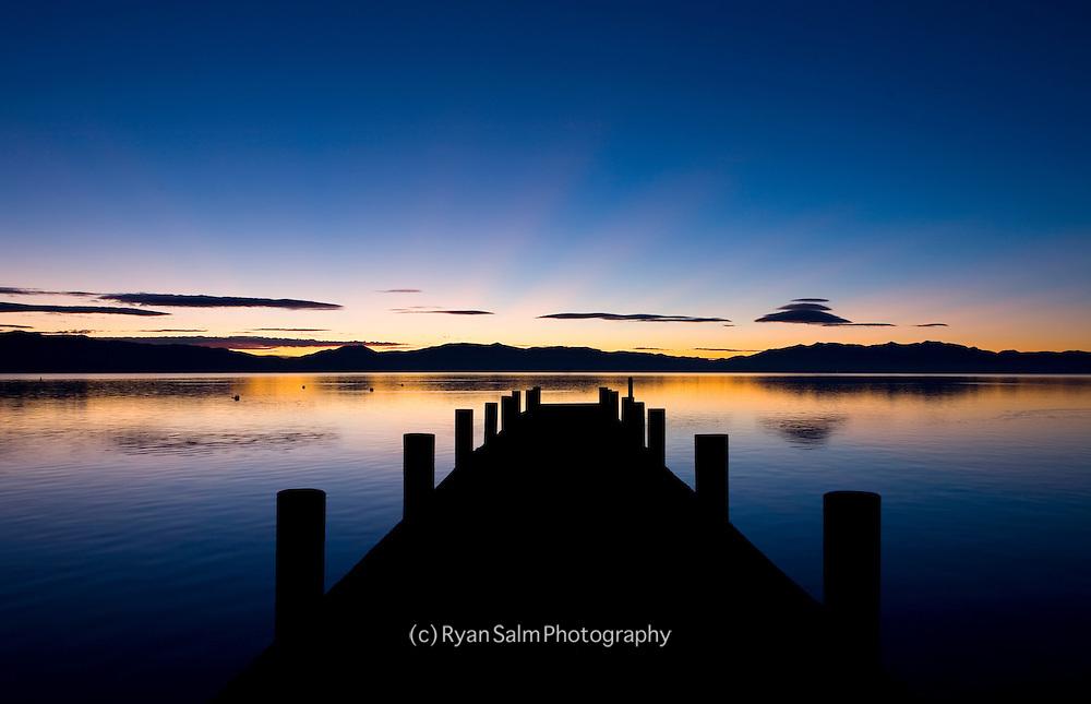 Tahoe Pier<br /> Lake Tahoe
