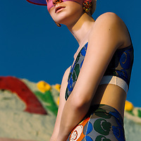 Katie Leishman Rees, Jason Tidwell, Salvation Mountain, women's fashion