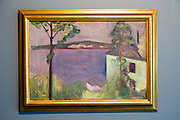 """From Nordstrand"" 1891 by Edvard Munch, (1863-1944), oil on canvas, Kode 4 art gallery Bergen, Norway - copyright restrictions in USA and Spain"