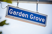 Garden Grove Street Sign