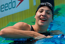 Nina Drolc  during 10th International Swimming Competition Veronika 2011, on July 16, 2011, in Pod skalco pool, Kamnik, Slovenia. (Photo by Vid Ponikvar / Sportida)