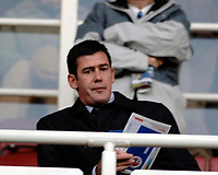 Photo: Daniel Hambury.<br />Reading v Brighton & Hove Albion. Coca Cola Championship. 10/12/2005.<br />Luton Town manager Mike Newell in the crowd.