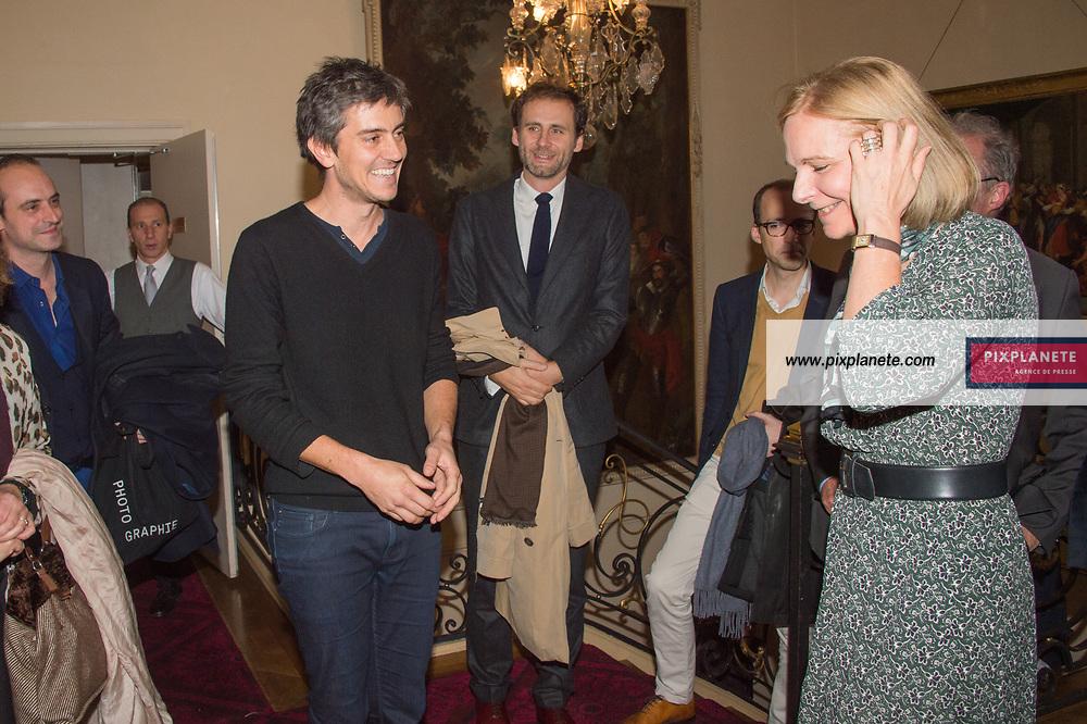 Sylvain Prudhomme Lauréat du Prix Fémina 2019 Prix Femina 2019 Mardi 5 Novembre 2019 Cercle Interalliée Paris