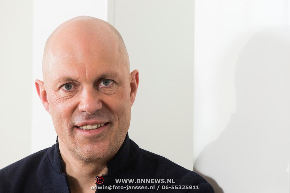 NLD/Amsterdam/20140212 - Fotoshoot oud wielrenner Gert Jakobs,