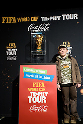 Son of Nenad Protega at VIP reception of FIFA World Cup Trophy Tour by Coca-Cola, on March 29, 2010, in BTC City, Ljubljana, Slovenia.  (Photo by Vid Ponikvar / Sportida)