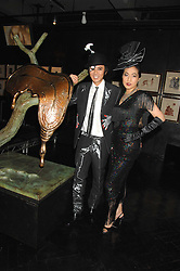 ANDY & PATTI WONG at Andy & Patti Wong's Chinese new Year party held at County Hall and Dali Universe, London on 26th January 2008.<br />