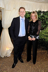 MATTHEW d'ANCONA editor of The Spectator and NIKKI BEDI at the Spectator Summer Party held at 22 Old Queen Street, London SW1 on 3rd July 2008.<br /><br />NON EXCLUSIVE - WORLD RIGHTS