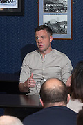 Dundee assistant manager Graham Gartland during a question and answer session for season ticket holders at Dens Park, Dundee<br /> <br /> <br />  - &copy; David Young - www.davidyoungphoto.co.uk - email: davidyoungphoto@gmail.com