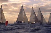 Sailing off Waikiki<br />