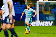 Sunderland midfielder Lee Cattermole (6) in action  during the EFL Sky Bet Championship match between Bolton Wanderers and Sunderland at the Macron Stadium, Bolton, England on 20 February 2018. Picture by Simon Davies.