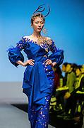Hong Kong Fashion Week.<br /> Indonesian Designer Linda Mariani presents a catwalk show in the Hong Kong Convention and Exhibition Centre.<br /> Hong Kong SAR,China.14th January 2014.<br /> Hong Kong. Date-14.01.14