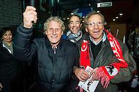 ALKMAAR - 21-11-2015, AZ -  sc Heerenveen , AFAS Stadion, 3-1, Kees Kist (m), Marco Wijnstekers., Kristen Nygaard,