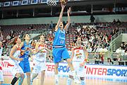 DESCRIZIONE : Riga Latvia Lettonia Eurobasket Women 2009 Quarter Final Spagna Italia Spain Italy<br /> GIOCATORE : Laura Macchi<br /> SQUADRA : Italia Italy<br /> EVENTO : Eurobasket Women 2009 Campionati Europei Donne 2009 <br /> GARA : Spagna Italia Spain Italy<br /> DATA : 17/06/2009 <br /> CATEGORIA : tiro super<br /> SPORT : Pallacanestro <br /> AUTORE : Agenzia Ciamillo-Castoria/M.Marchi<br /> Galleria : Eurobasket Women 2009 <br /> Fotonotizia : Riga Latvia Lettonia Eurobasket Women 2009 Quarter Final Spagna Italia Spain Italy<br /> Predefinita :