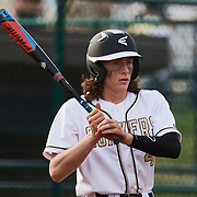 SEWICKLEY, PA - May 03: During a boys high school varsity game between Quaker Valley and New Castles at Esmark Field on May 03, 2018 in Leetsdale, PA . (Photo by Shelley Lipton)