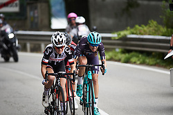 Tayler Wiles (USA) in the escape on the run in to the finish at Giro Rosa 2018 - Stage 5, a 122.6 km road race starting and finishing in Omegna, Italy on July 10, 2018. Photo by Sean Robinson/velofocus.com