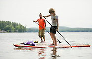 Paddle Boarding in Wolfeboro 6Jun13
