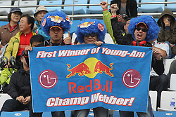 Motorsports / Formula 1: World Championship 2010, GP of Korea, fans of Red Bull Racing