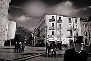 ITALY, Fondi: Piazza Municipio, city center..©Christian Minelli